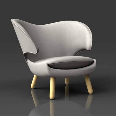 Pelikan Chair 3d Model Formfonts 3d Models Amp Textures