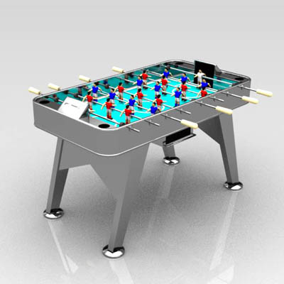 A game of table football. Item can be found at RS ....