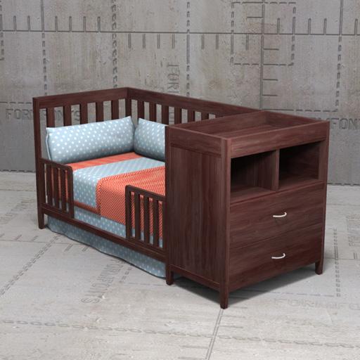 Crib Combo Prince Furniture - Crib Combo DesignerStyle