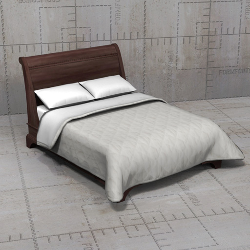 Create A Queen Size Bed In Max