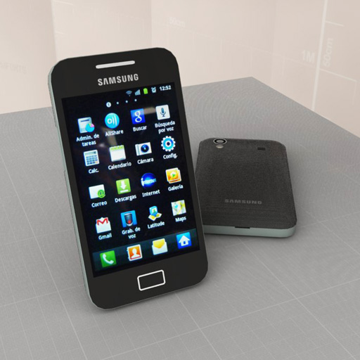 Samsung Galaxy Ace S5830 3d Model Formfonts 3d Models