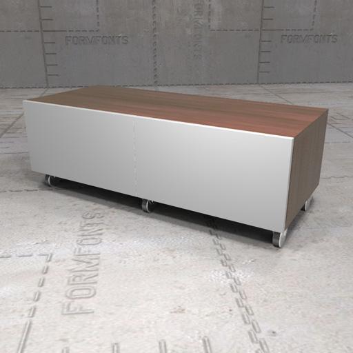 Entzuckend IKEA Besta Bench 3D Model