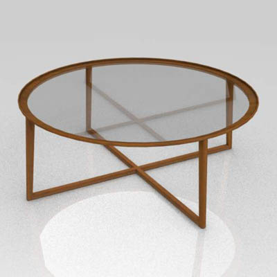 Curio Coffee Table 3D Model FormFonts 3D Models Textures