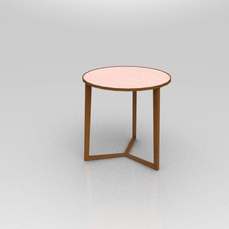 Description Curio Side Table In A Variety Of Tops Diameter 19