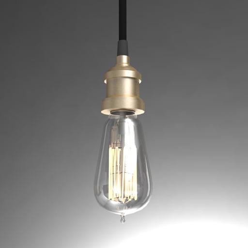 RH Bulb Pendant 3D Model