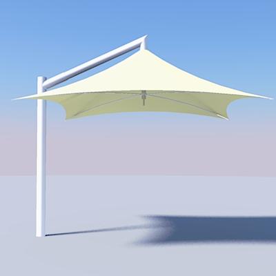 Vista Umbrella 3d Model Formfonts 3d Models Amp Textures