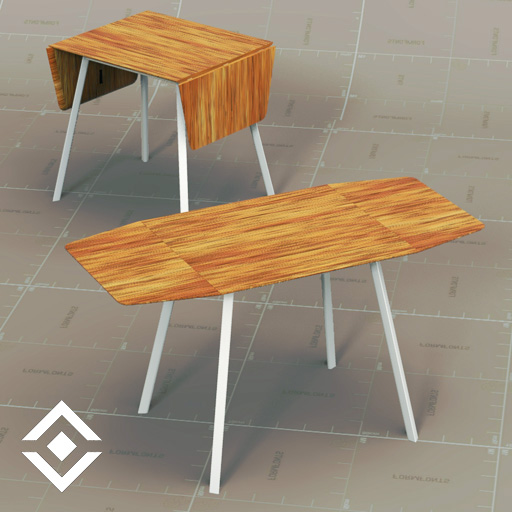 IKEA PS2012 Dining Table 3D Model FormFonts 3D Models  : ikea ps2012 dining tableFFModelID162691IKEAPS2012DT01 from www.formfonts.com size 512 x 512 jpeg 89kB