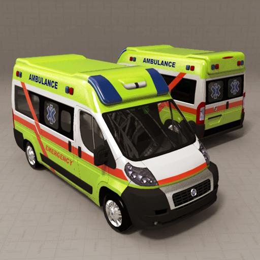 Fiat Ducato Ambulance 3d Model Formfonts 3d Models