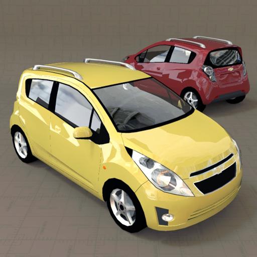Chevrolet Beat Spark Gt 3d Model Formfonts 3d Models Textures