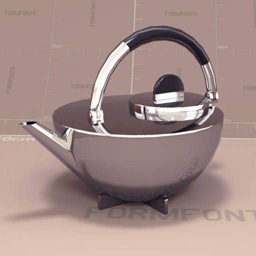 marianne brandt tea pot 3d model formfonts 3d models. Black Bedroom Furniture Sets. Home Design Ideas