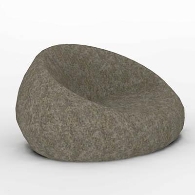 Admirable Living Stone Chair 3D Model Formfonts 3D Models Textures Inzonedesignstudio Interior Chair Design Inzonedesignstudiocom