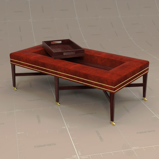 Incredible Baxley Cocktail Ottoman 3D Model Formfonts 3D Models Cjindustries Chair Design For Home Cjindustriesco