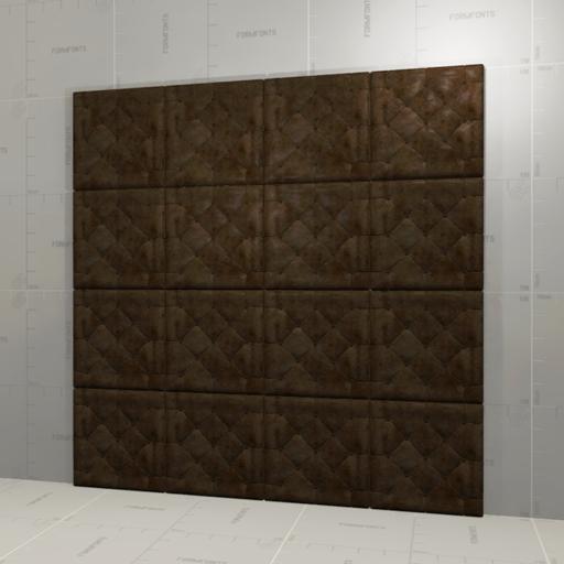 Leather Wall Panel 3d Model Formfonts 3d Models Amp Textures