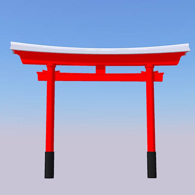 torii japanese temple gate - Minecraft Japanese Gate
