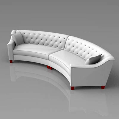 Interesting View Larger Image Of With Curved Sofa