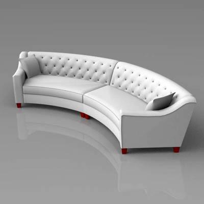 Riemann Tufted Sofa 3d Model Formfonts 3d Models Amp Textures