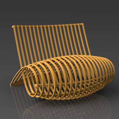 capellini wood chair 3d model formfonts 3d models textures