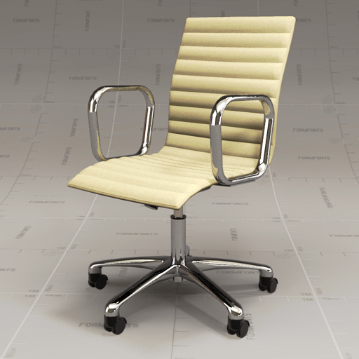 Cb Ripple Ivory Chair Model Crate Barrel Rippley Leather Office