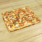 View Larger Image of Square Pizzas