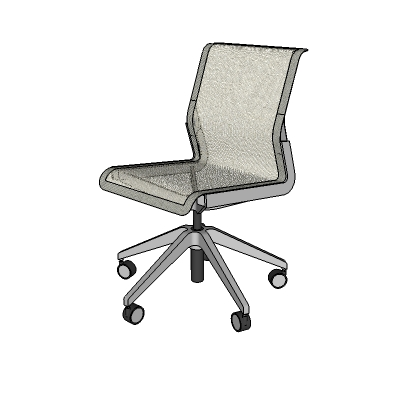 Allsteel Clarity Task Chair 3D Model FormFonts 3D Models Textures