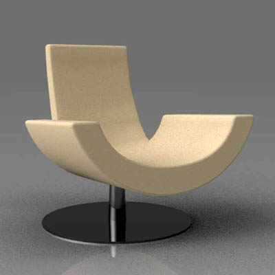 Arketipo Fly lounge chair.