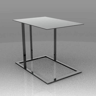 These tables by Arketipo complement the Loft range....