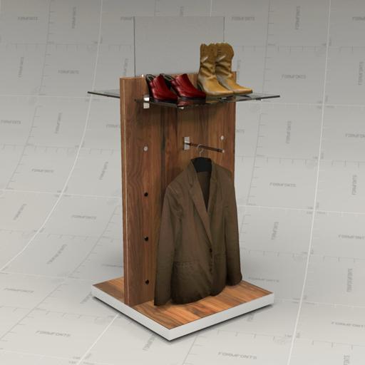 Reclaimed Wood Fixtures Set 20 3D Model - FormFonts 3D Models ...