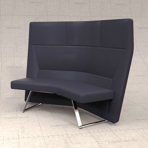 Keilhauer Talk high back 2 seater 