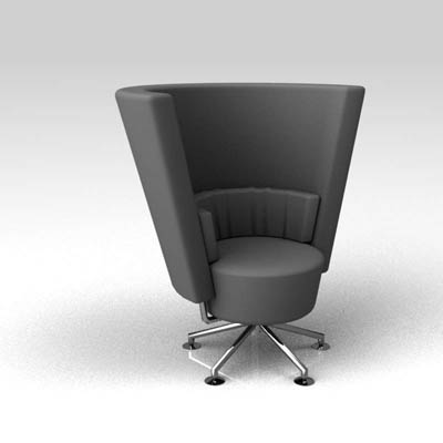 Astonishing Circo Solo 3D Model Formfonts 3D Models Textures Caraccident5 Cool Chair Designs And Ideas Caraccident5Info