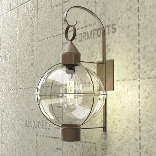 Garden Lamp 3d Model: Exterior Light Fixture 3D Model