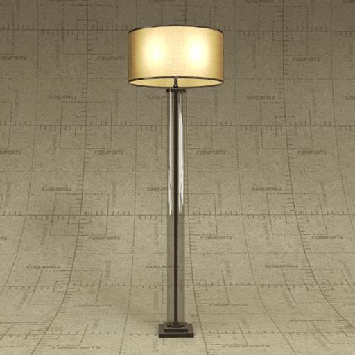Rh french column glass floor lamp 3d model formfonts 3d models rh french column glass floor lamp 3d model aloadofball Images