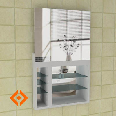 Robern uplift bathroom cabinet. 
