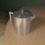 <br>Stainless Steel Teapot<br>