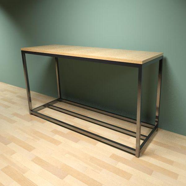 Cubic table series 3d model formfonts 3d models textures for Sofa table revit