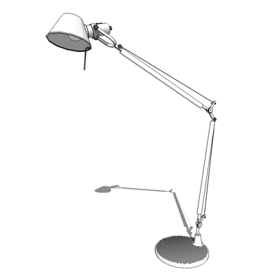 tolomeo table lamp 3D Model FormFonts 3D Models Textures
