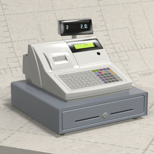 Generic Cash Register.