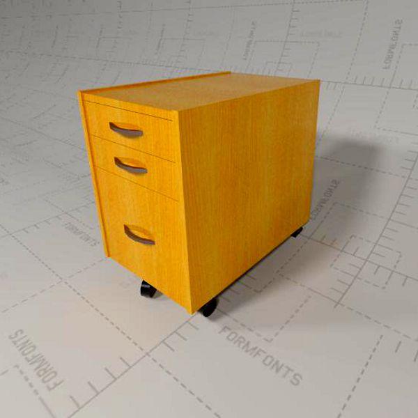 effektiv cabinets 3d model formfonts 3d models textures. Black Bedroom Furniture Sets. Home Design Ideas
