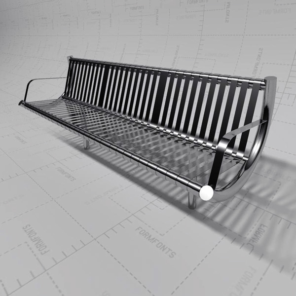 <br>Stainless Steel Bench<br>