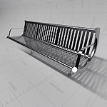 View Larger Image of FF_Model_ID16976_StainlessSteelBenchThumb.jpg