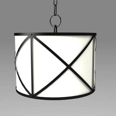Olsen metal-bound fabric drum 