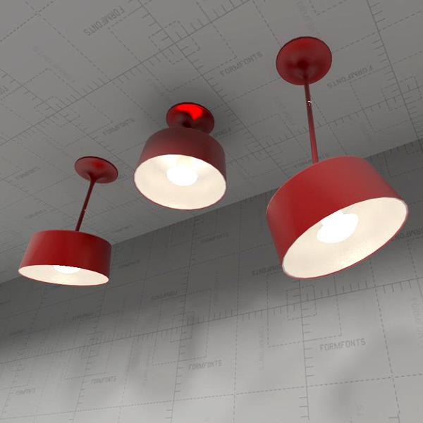 Zero Pendant Lamp 3D Model