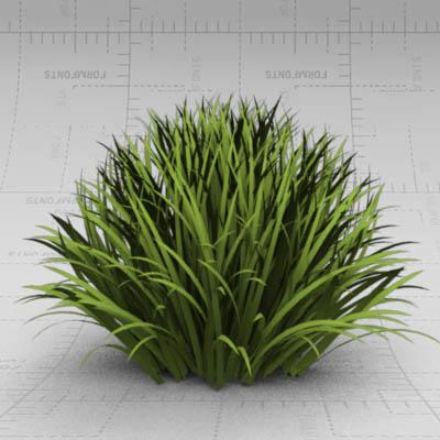 Generic grass tuft 3D Model - FormFonts 3D Models & Textures