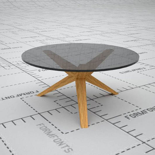 Conica coffee table by Skandiform.