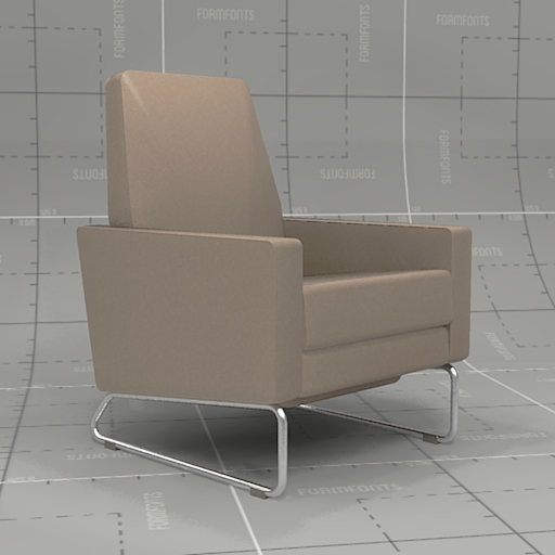 Charmant Design Within Reach Flight Recliner.