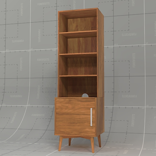 West Elm Mid Century Bookcase.