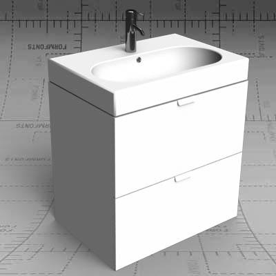 Ikea godmorgon 3d model formfonts 3d models amp textures
