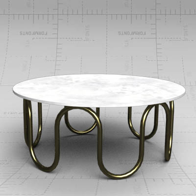 The Scalinatella cocktail table from Jonathan Adle....