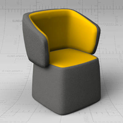 Chick Chair 3d Model Formfonts 3d Models Amp Textures