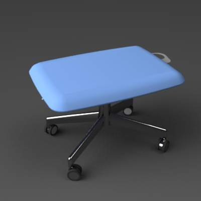 The Harbor lounge work chair from Haworth. With a ....