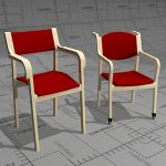 Salus chairs for senior citizens, frame bent birch...